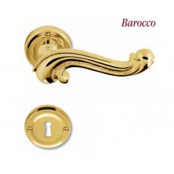 Ручка на розетке Colombo Barocco