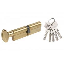 Цилиндр Mgserrature 31/31 ключ/поворотник латунь