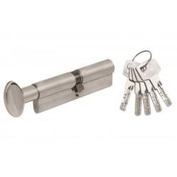 Цилиндр Mgserrature 31/31 ключ/поворотник никель мат.