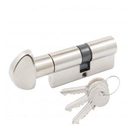 Цилиндр Cortelezzi ключ/поворотник никель