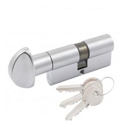 Цилиндр Cortelezzi ключ/поворотник мат хром