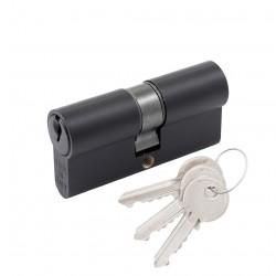 Цилиндр Cortelezzi ключ/ключ черный матовый