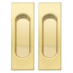 Ручки для раздвижных дверей Fimet 3663AR матхром, матбронза, латунь