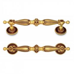 Ручка мебельная Omporro 423 130мм золото антик