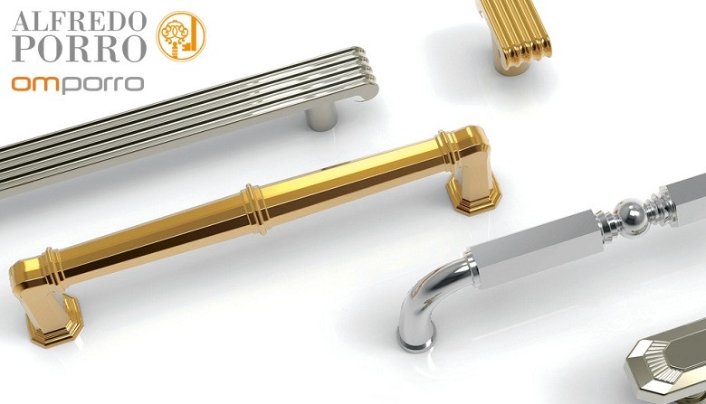 Мебельные ручки в классическом стиле AlfredoPorro (Omporro) Италия